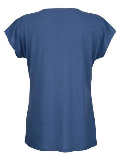 Dress In Shirt mit verspieltem Druck
