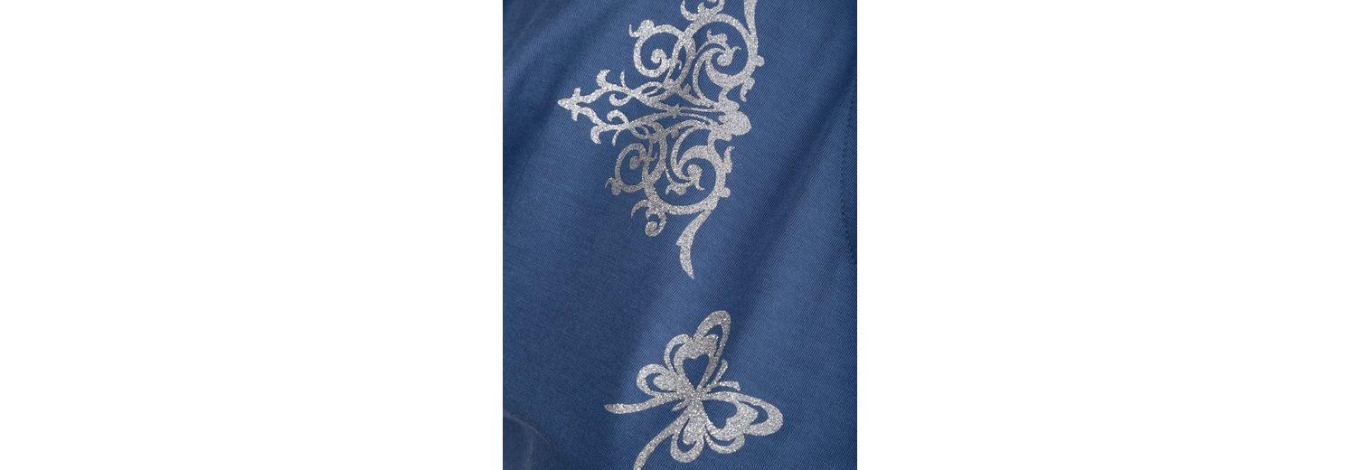 Dress In Shirt mit verspieltem Druck Auslassstellen Verkauf Online Verkauf Fälschung FskkX1T