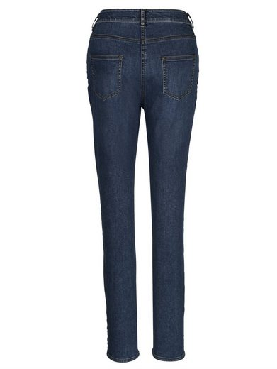 Mona Jeans mit modischer Waschung