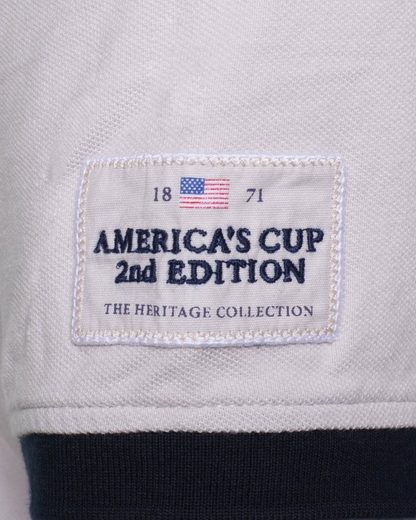 CODE-ZERO Poloshirt AMERICA´S CUP ED.2, Patches