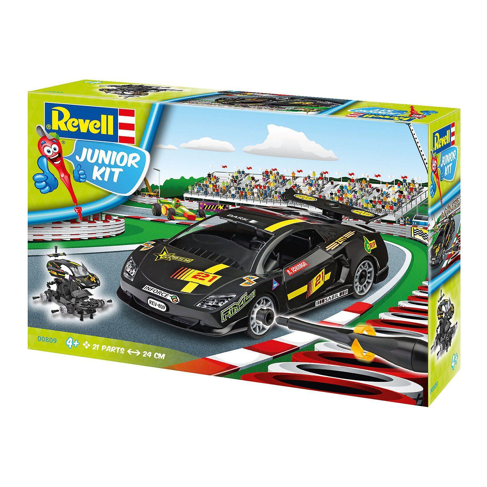 Revell® Junior Kit - Rennwagen schwarz