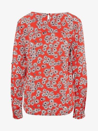 Tom Tailor Langarmbluse gemusterte Bluse