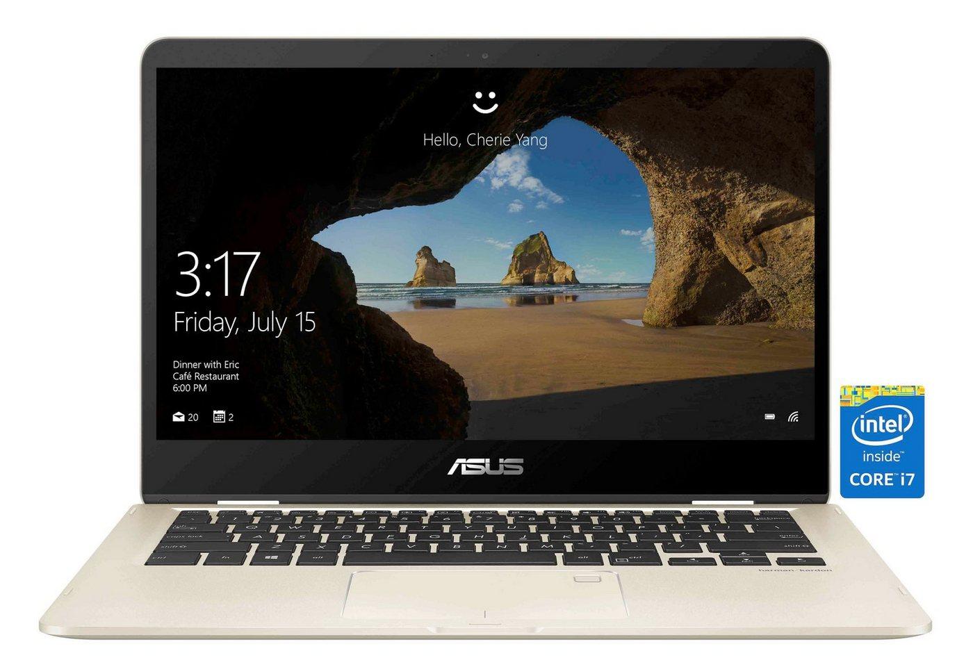 Asus Notebook »ZENBOOK FLIP 14 I7-8550U 14IN« - Preisvergleich