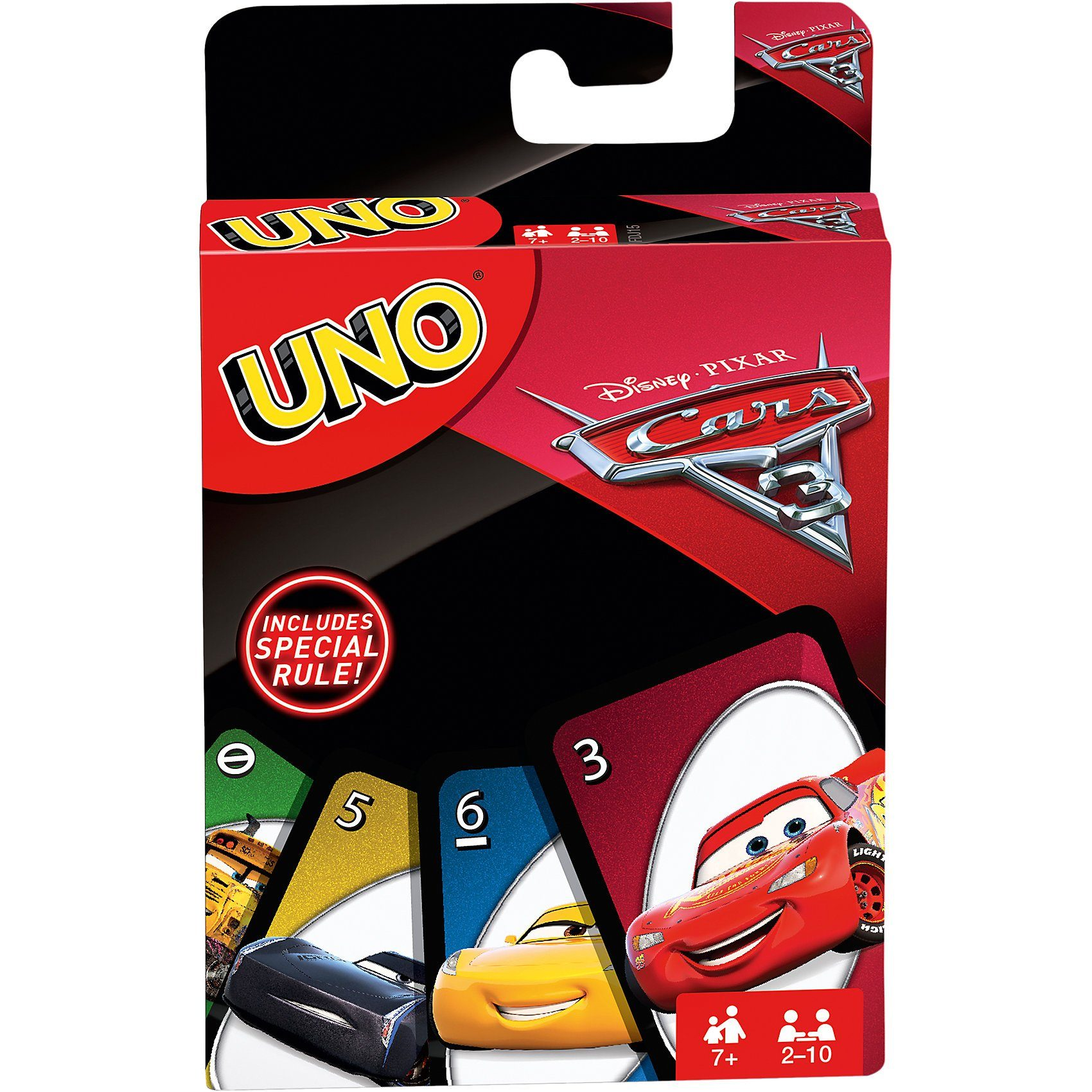 Mattel® Games UNO Cars 3