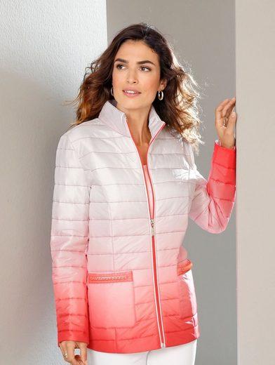 Paola Steppjacke mit modischem Farbverlauf