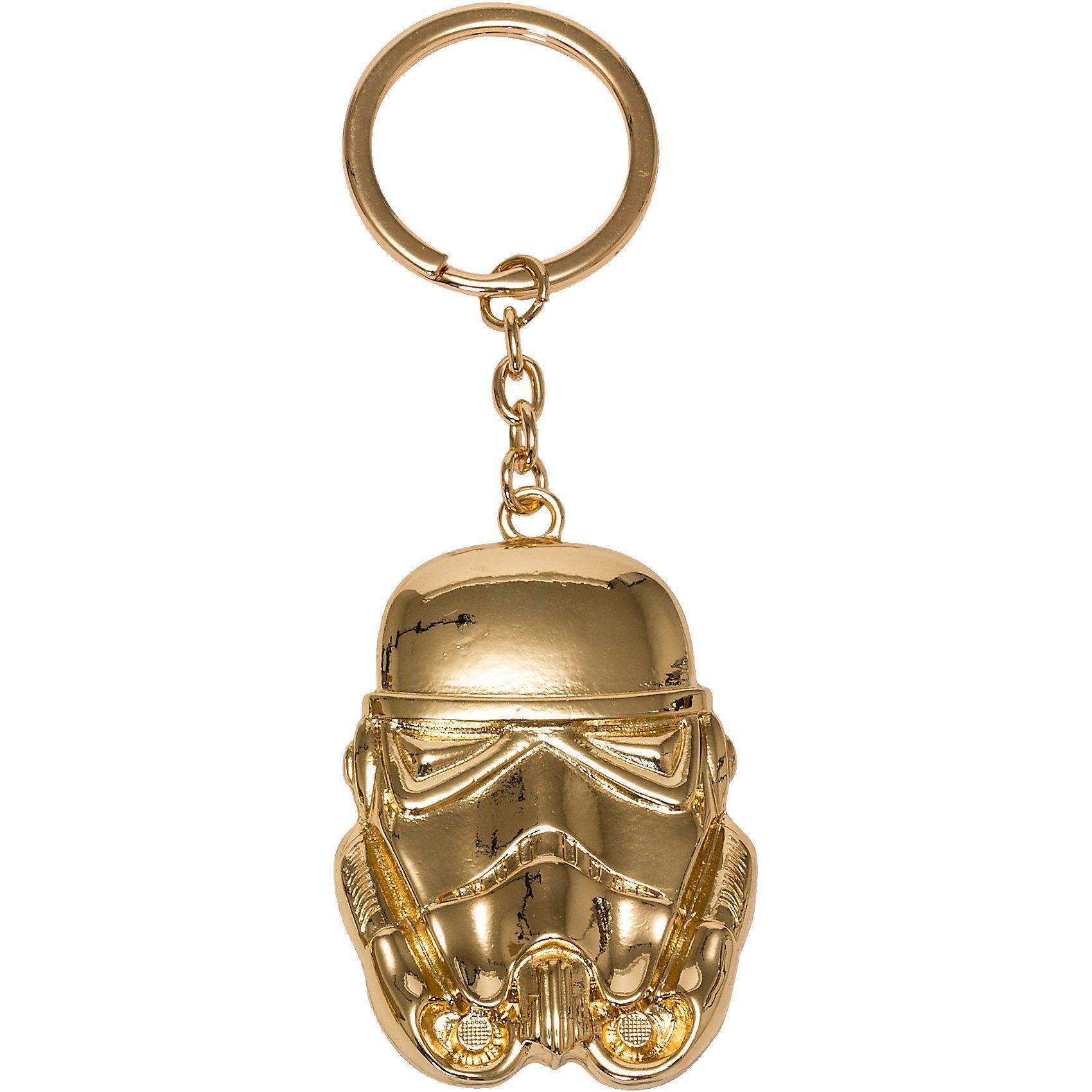 Joy Toy Storm Trooper vergoldeter Schlüsselanhänger Metall
