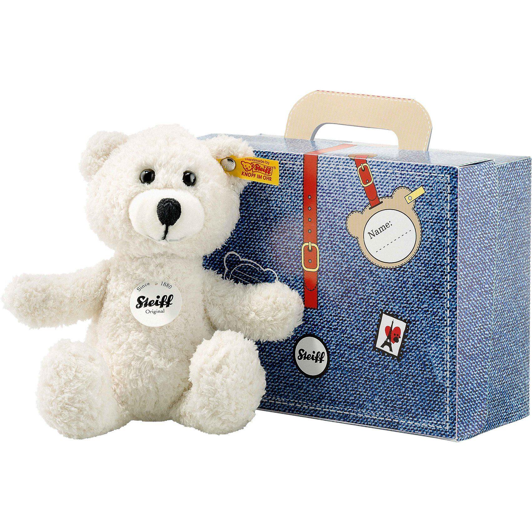 Steiff Teddyb.Sunny 22 creme im Koffer