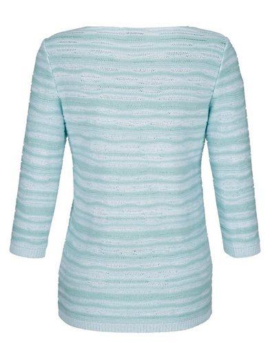 Dress In Pullover mit Melange-Effekt
