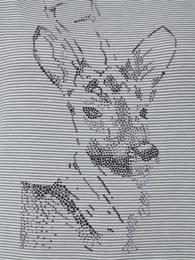 Mona Marigold Shirt With Deer-motive
