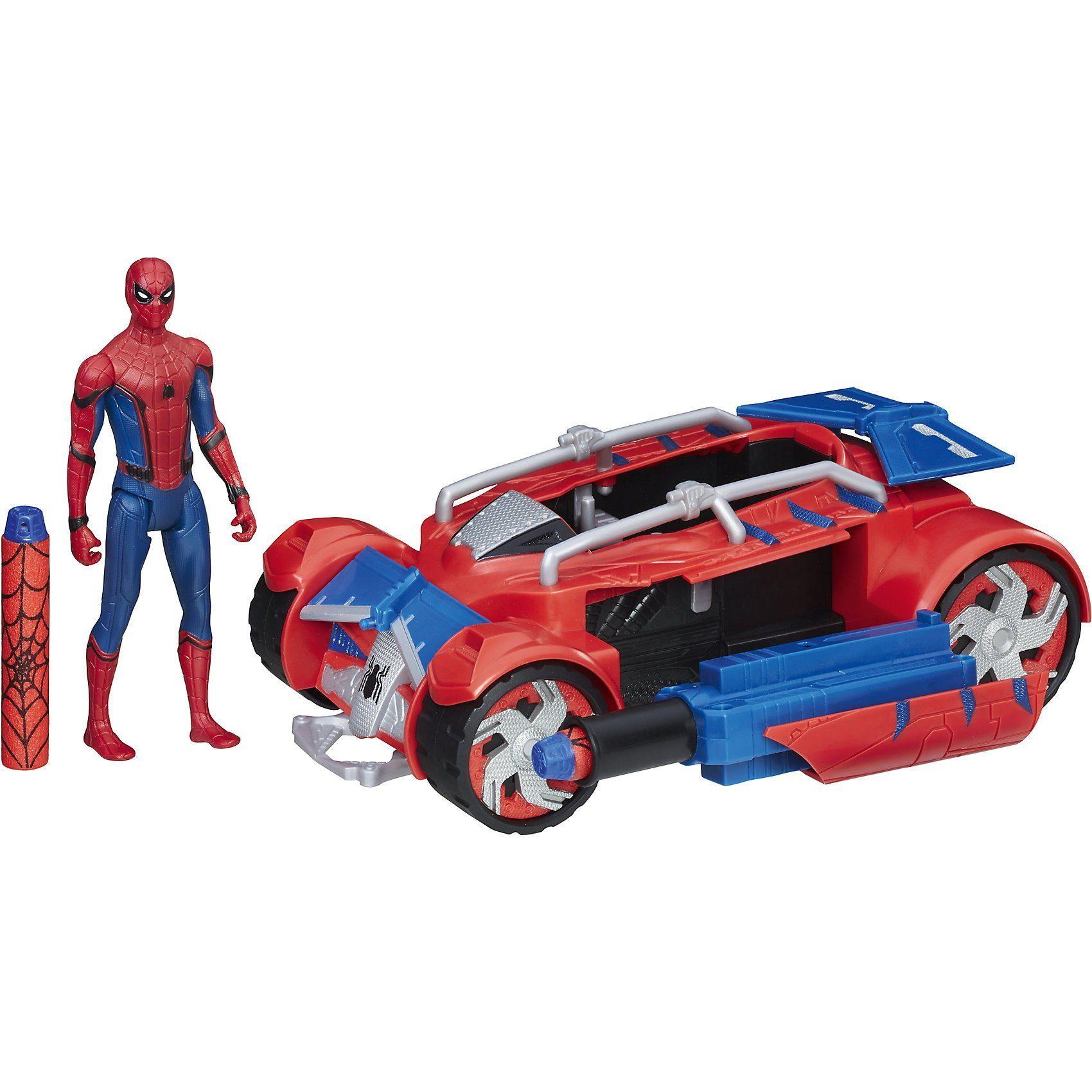 Hasbro Spider-Man Web City Hero Racer