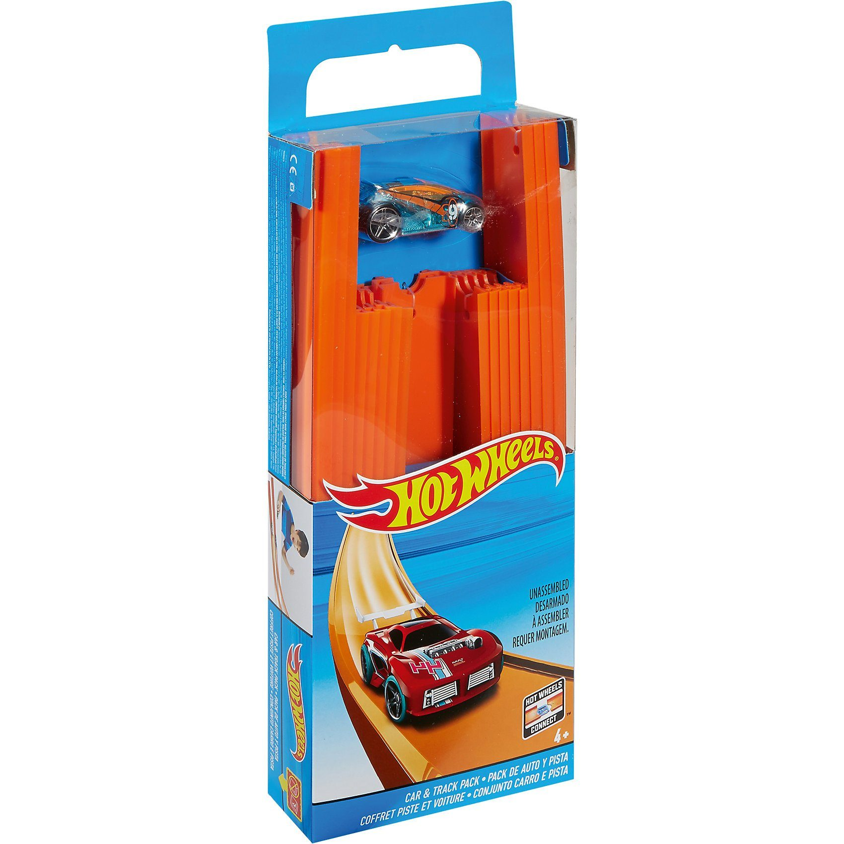 Mattel® Hot Wheels Track Builder Gerade Rennbahn