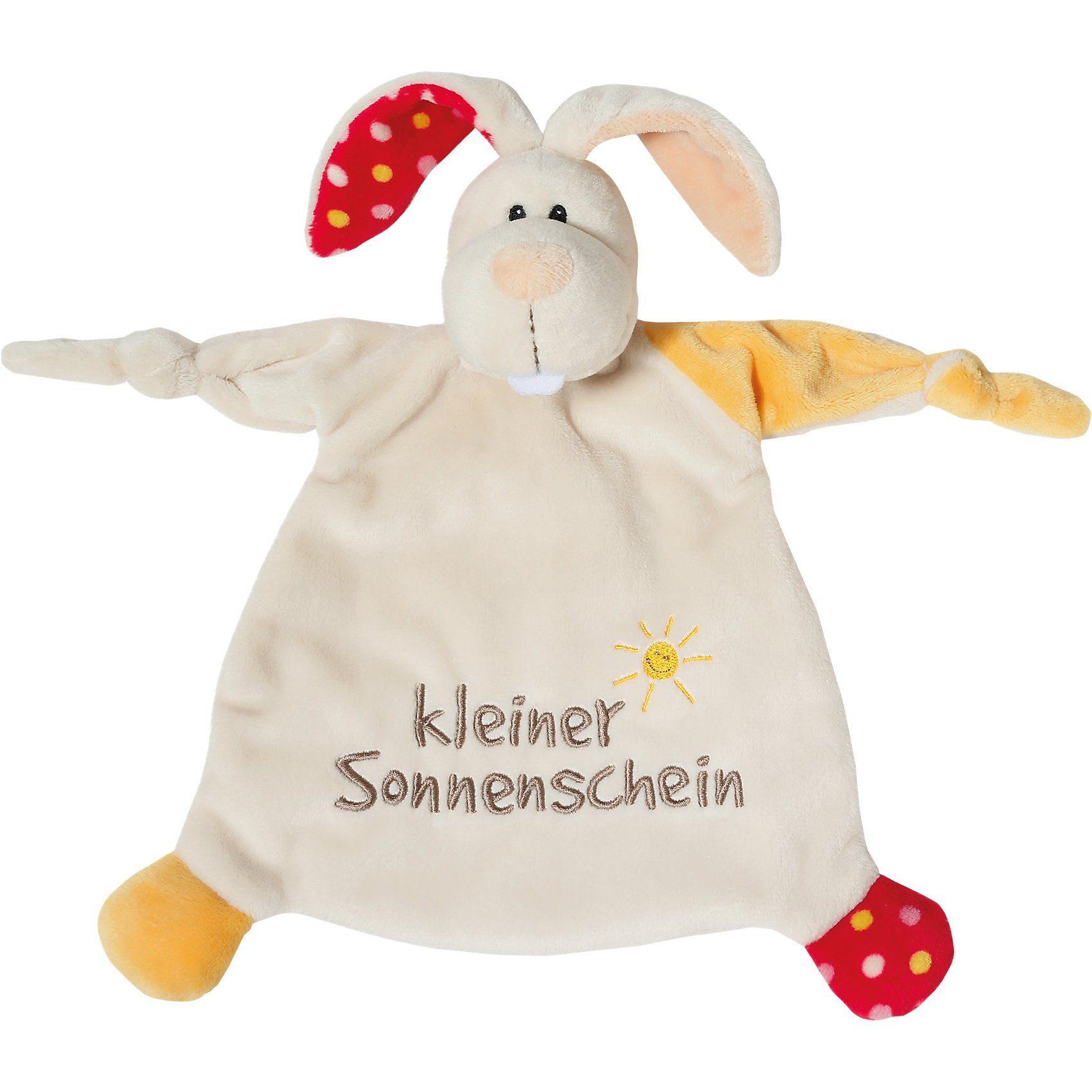 """Schmusetuch Hase """"kleiner Sonnenschein"""" 25x25cm (40043)"""