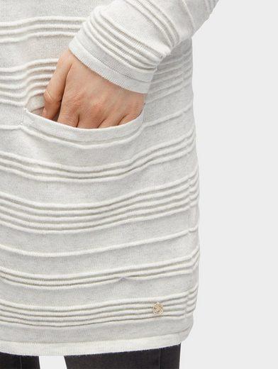 Tom Tailor Denim Cardigan Cardigan With Stripe Structure