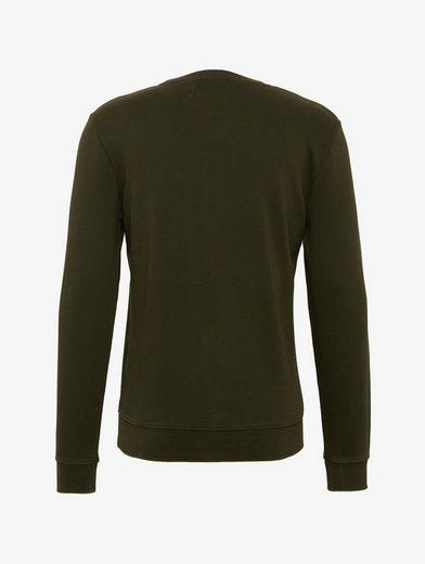 Tom Tailor Denim Sweatshirt Sweatshirt mit Artwork