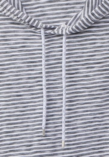 CECIL Kapuzen Shirt mit Streifen