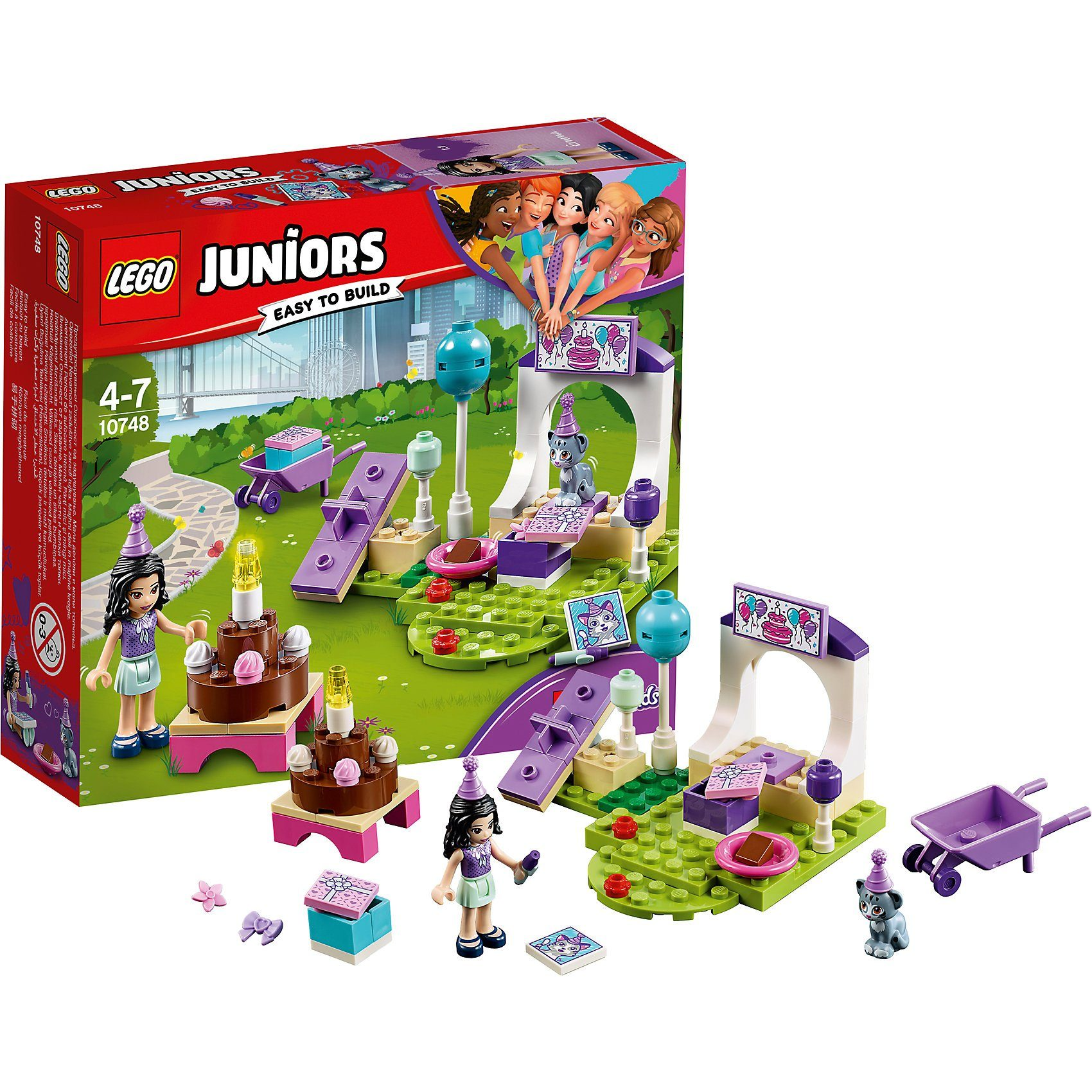 LEGO 10748 Juniors: Emmas Party