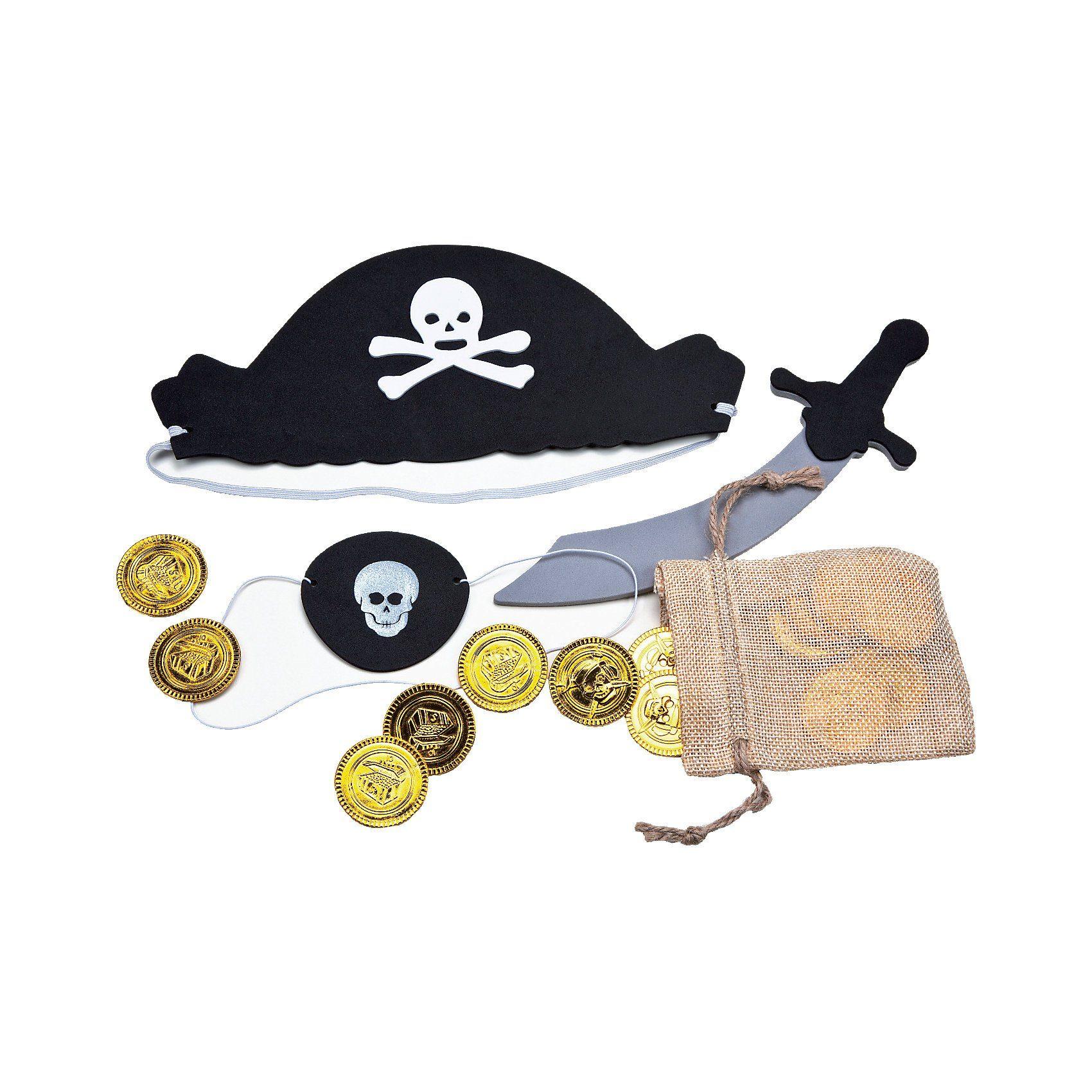 Moosgummi-Set Pirat