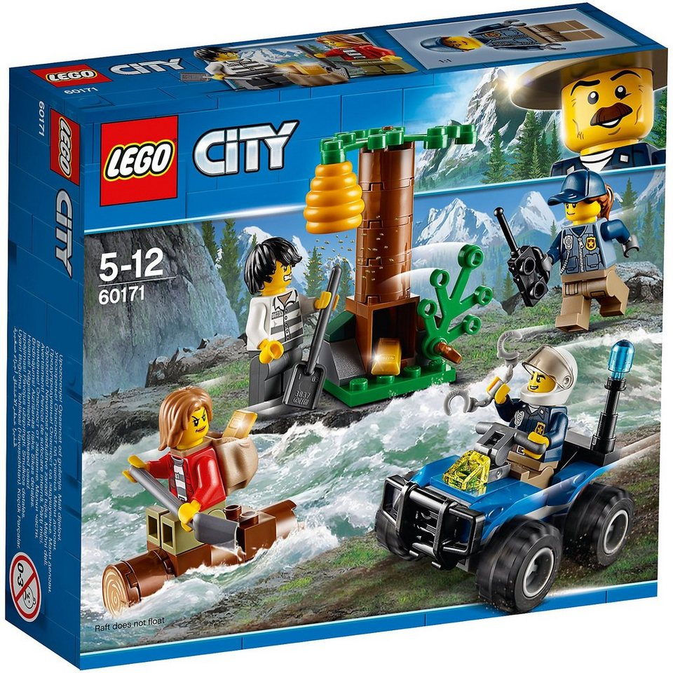 Lego® 60171 City: Verfolgung durch die Berge
