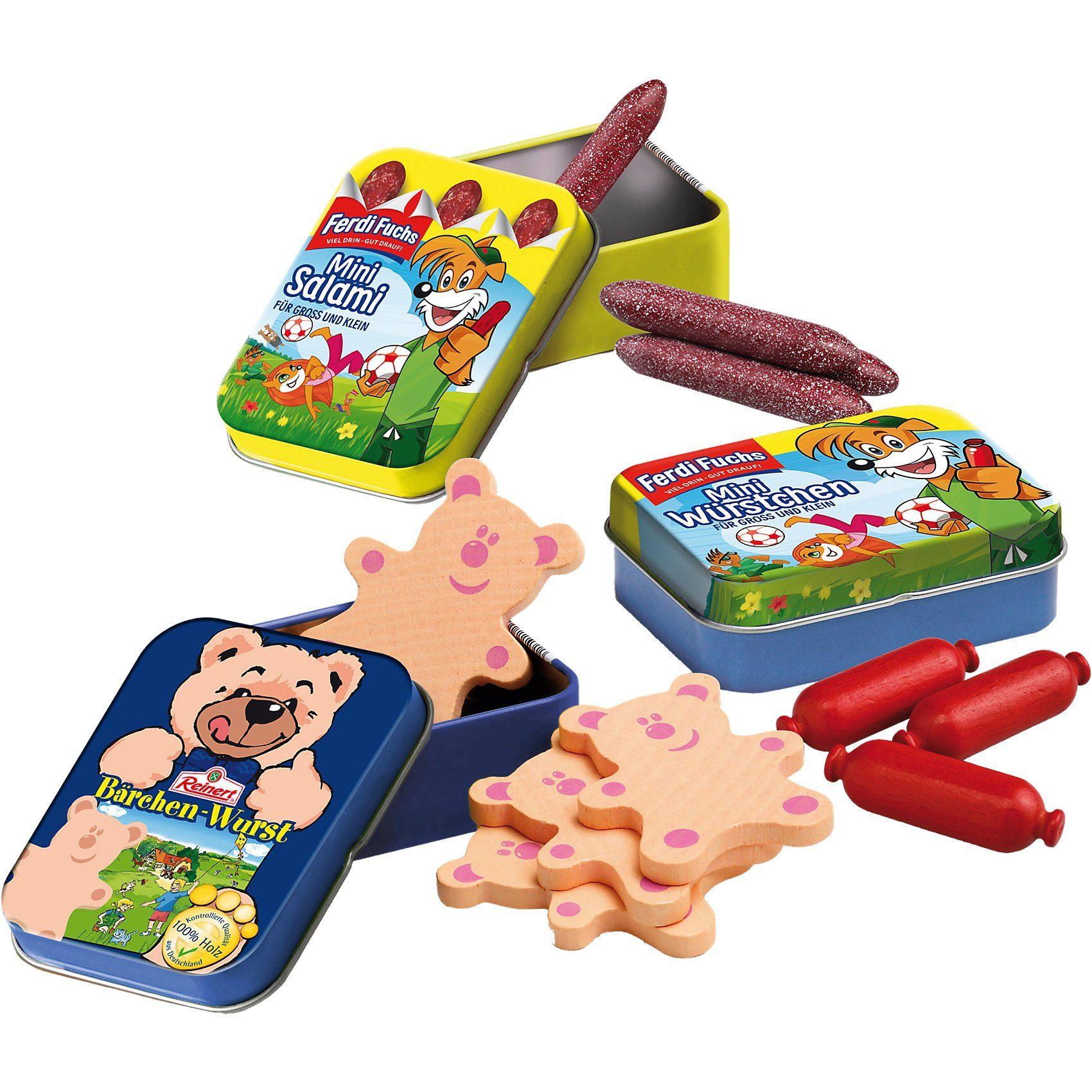Erzi® Exklusiv Kinderwurst Sortiment Spiellebensmittel