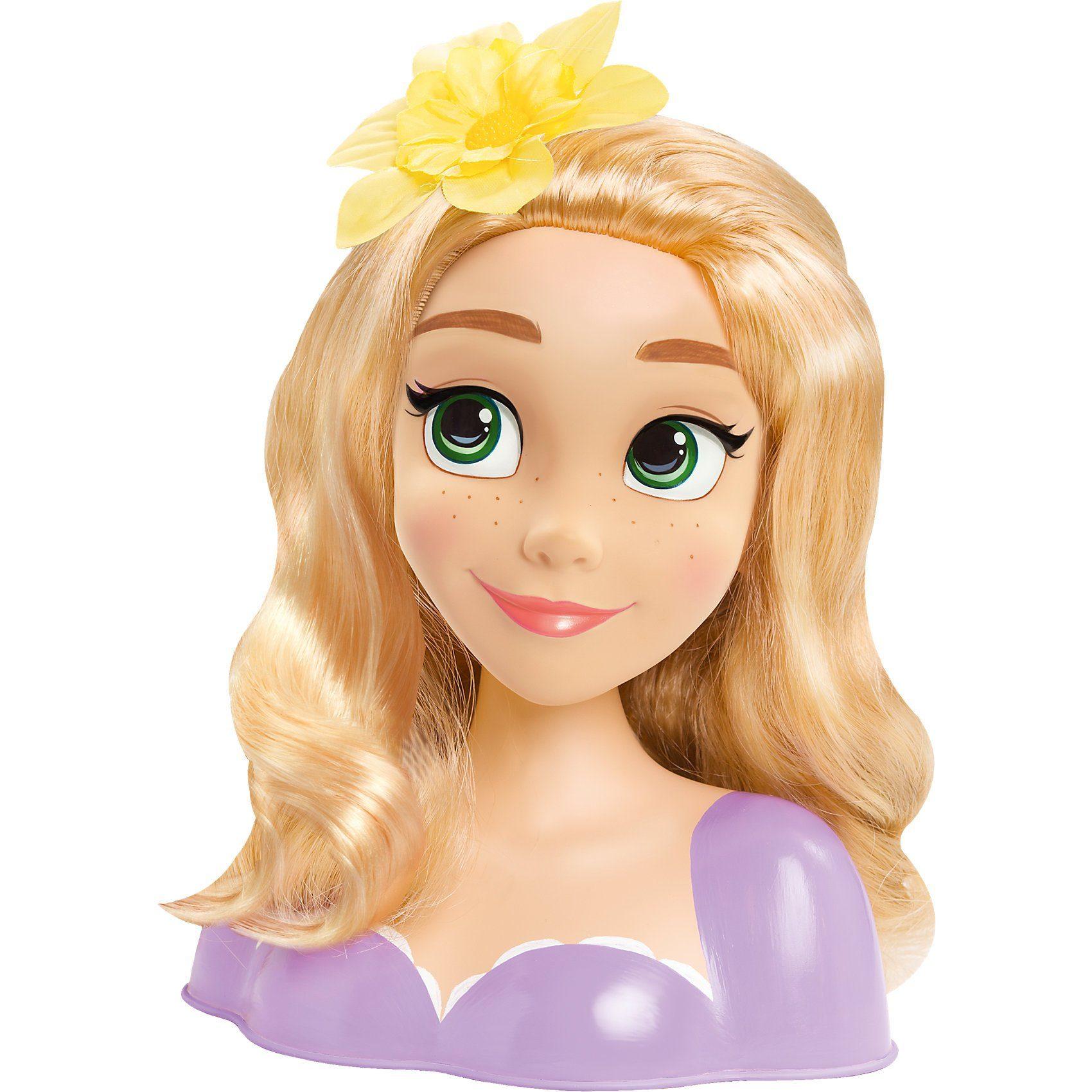 IMC Toys Exklusiv Disney Princess Rapunzel Frisierkopf