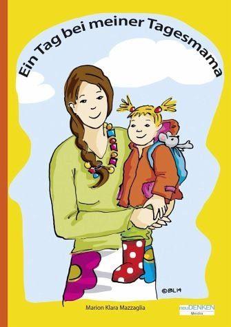 Buch mit Papp-Einband »Ein Tag bei meiner Tagesmama«