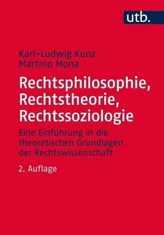 Broschiertes Buch »Rechtsphilosophie, Rechtstheorie,...«