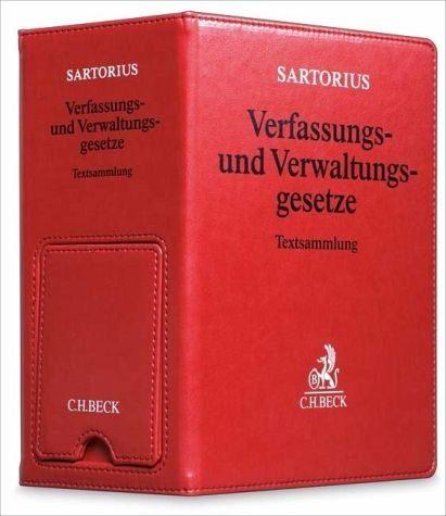 Allgemeine Handelsware »Sartorius Verfassungs- und Verwaltungsgesetze,...«