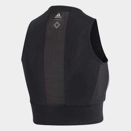 Adidas Performance Sporttop Wanderlust Yoga Crop-top