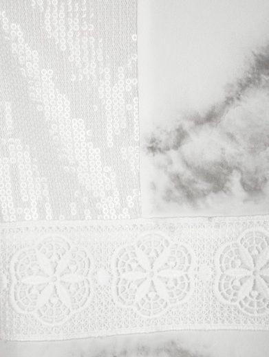 Alba Moda Shirt In Modern Material Mix