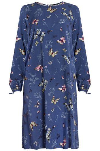 Finn Flare Kleid mit Frühlingsmuster