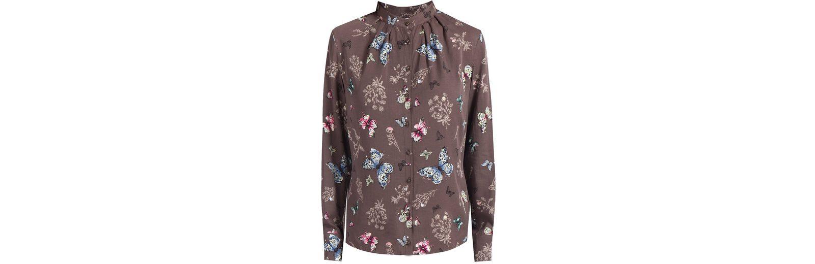 Finn Flare Bluse mit niedlichem Schmetterlingsdruck Gut Verkaufen Die Billigsten m4SrUHsW
