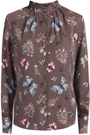 Finn Flare Bluse mit niedlichem Schmetterlingsdruck