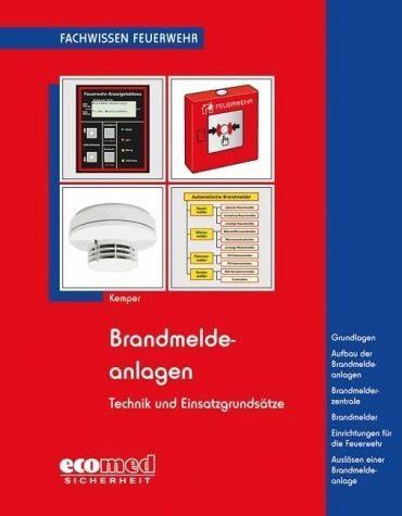 Broschiertes Buch »Brandmeldeanlagen«