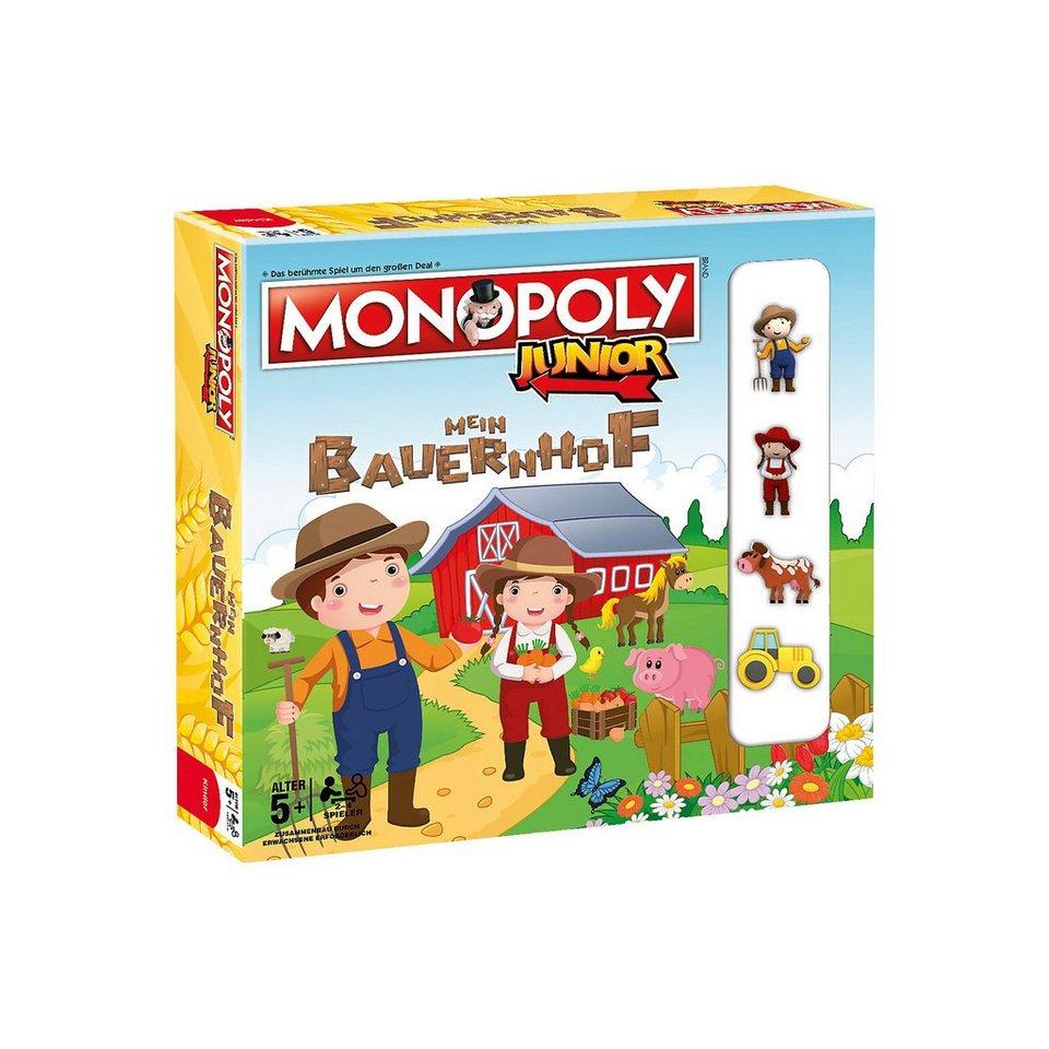 Winning Moves Monopoly Junior - Mein Bauernhof