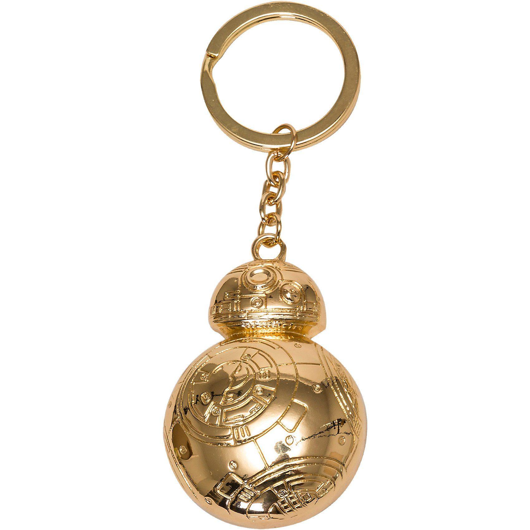 Joy Toy BB- 8 vergoldeter Schlüsselanhänger Metall