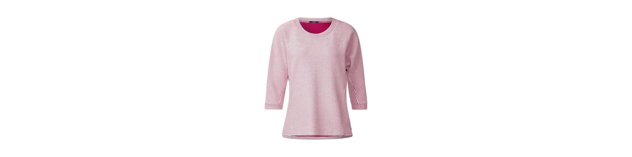 Freies Verschiffen 2018 CECIL Struktur Sweatshirt Beliebt Verkaufsstelle Verkauf Komfortabel 1YqHS