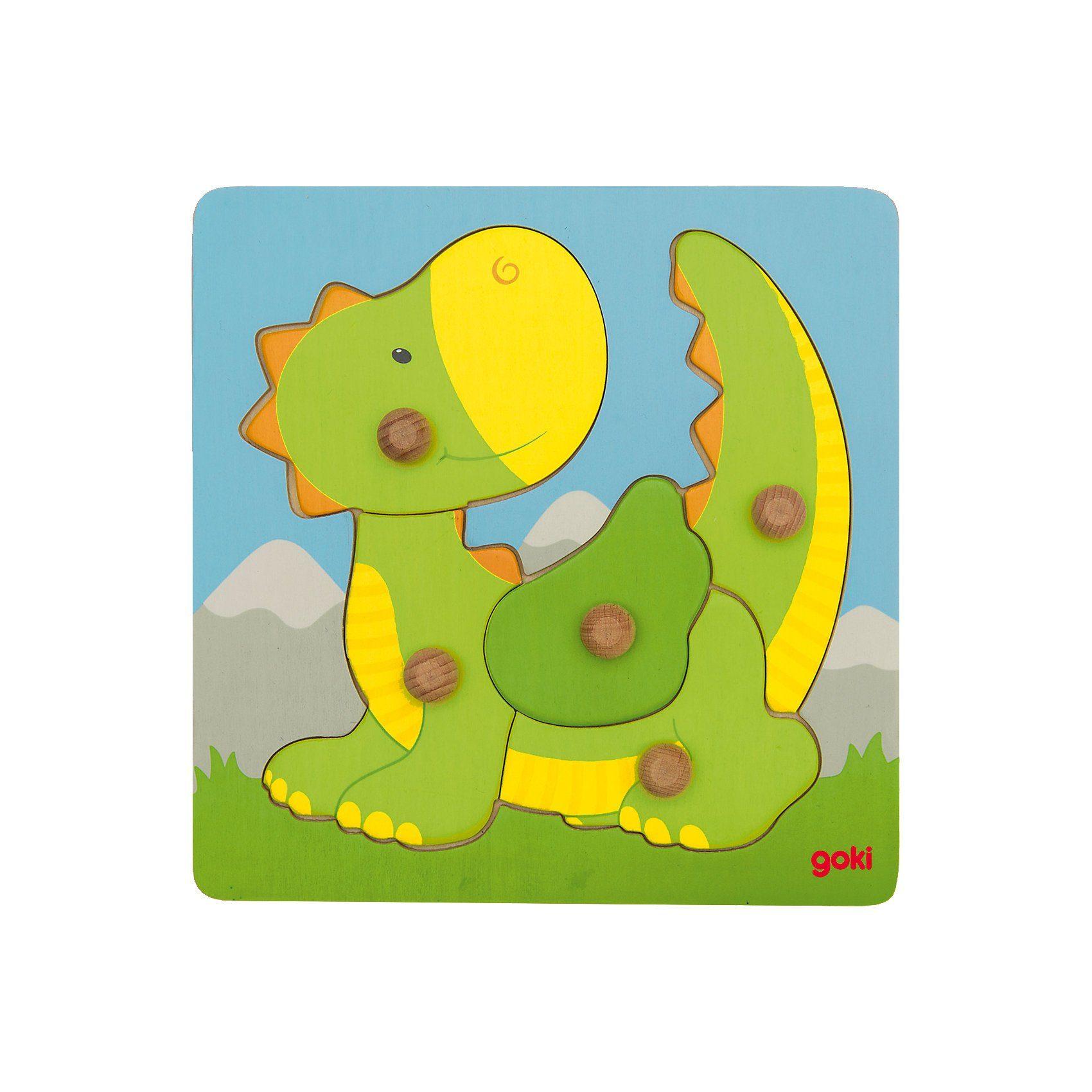 goki Steckpuzzle Drache