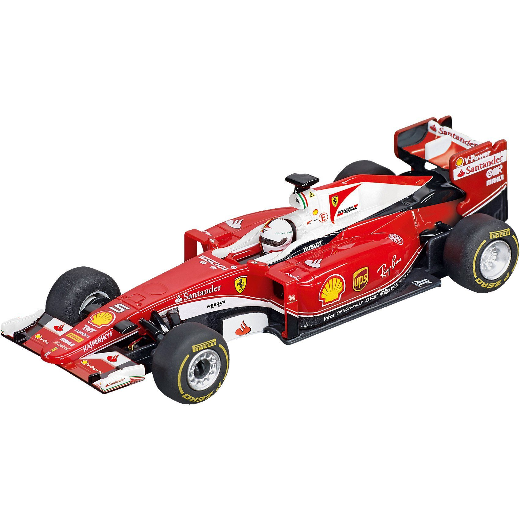 "Carrera® GO!!! 64086 Ferrari SF16-H ""S.Vettel, No.5"""