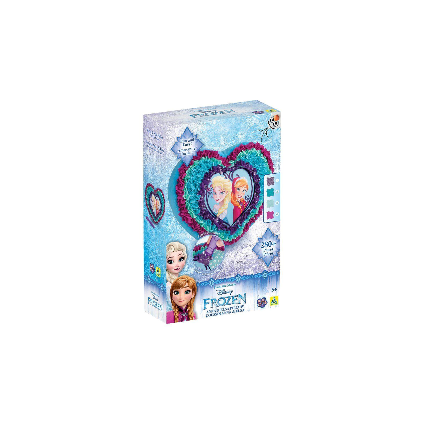 PlushCraft - Die Eiskönigin - Anna und Elsa Kissen