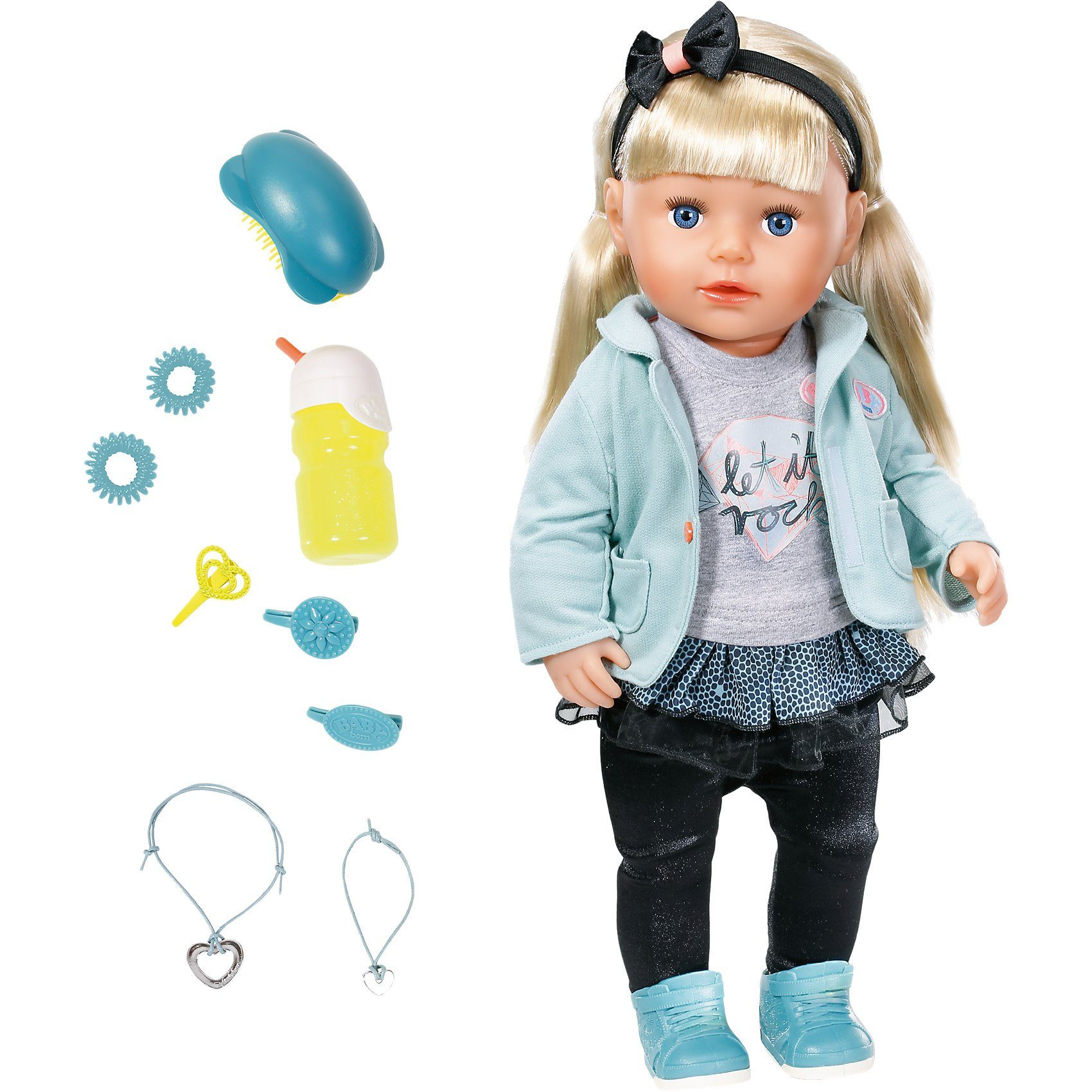 Zapf Creation® Exklusiv BABY born® Stehpuppe Sister, 43 cm
