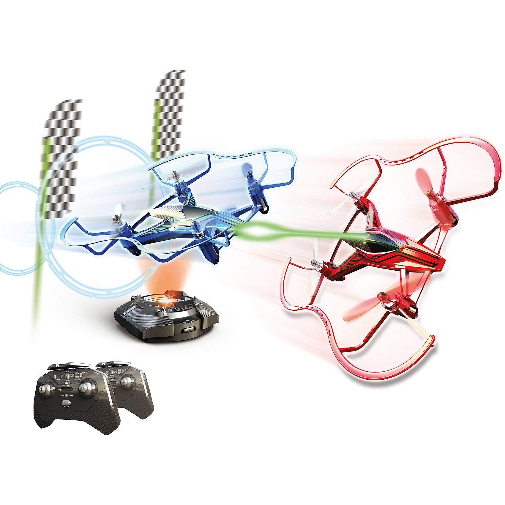 Silverlit RC Renndrohne Quadrocopter Hyperdrone Champion's Kit