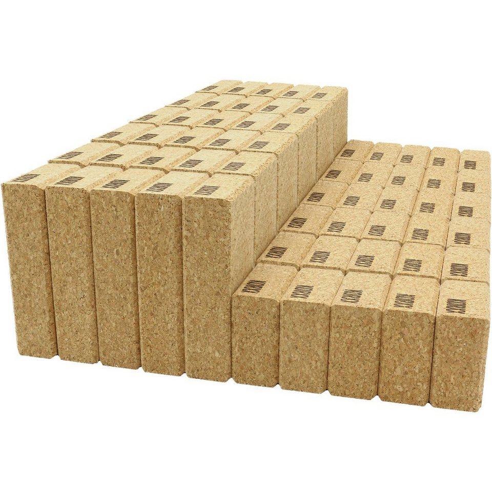Korkbausteine Cuboid M, 60 Stk. in Filzbox kaufen