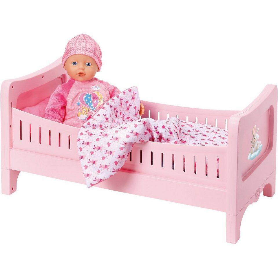 Zapf Creation 174 My Little Baby Born 174 Super Soft Mit Bett