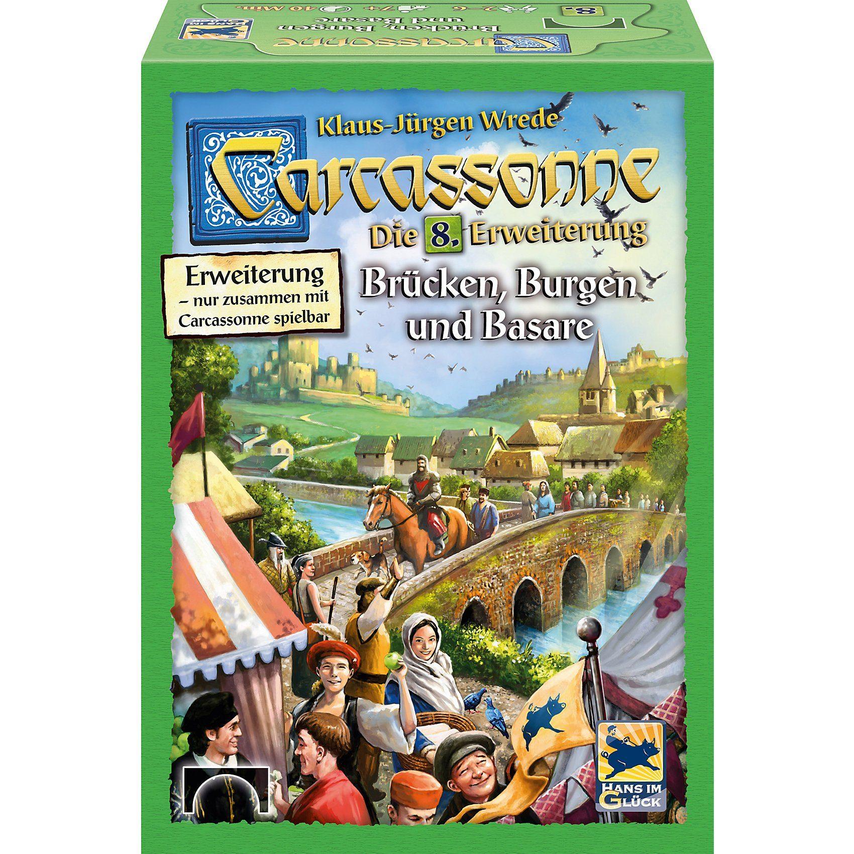 Hans im Glück Carcassonne Erweiterung 8 - Brücken Burgen und Basare