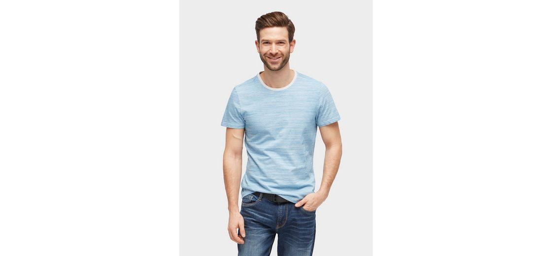 Tom Tailor T-Shirt T-Shirt mit feinem Streifenmuster Günstig Kaufen Footlocker Finish Kostenloser Versand m6zdGWiN