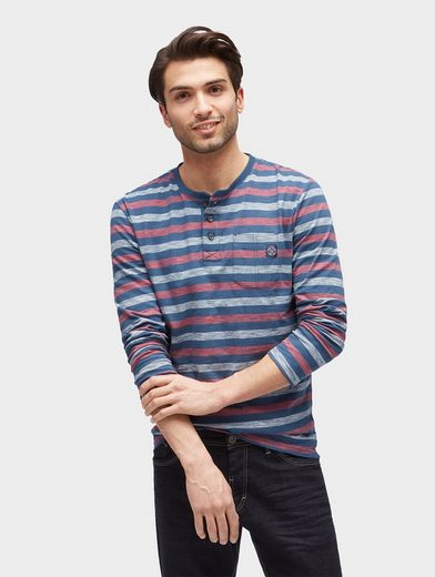Tom Tailor Langarmshirt Striped Langarmshirt