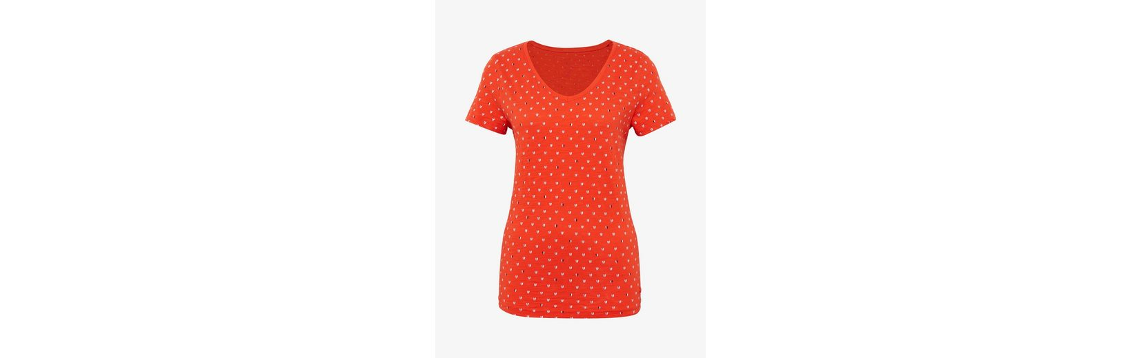 Tom Tailor T-Shirt T-Shirt mit Valentinstag-Print Webseiten o52yQ
