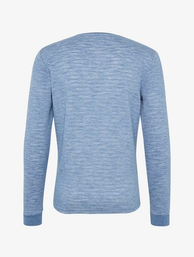 Tom Tailor Rundhalspullover Langarmshirt in Melange-Optik
