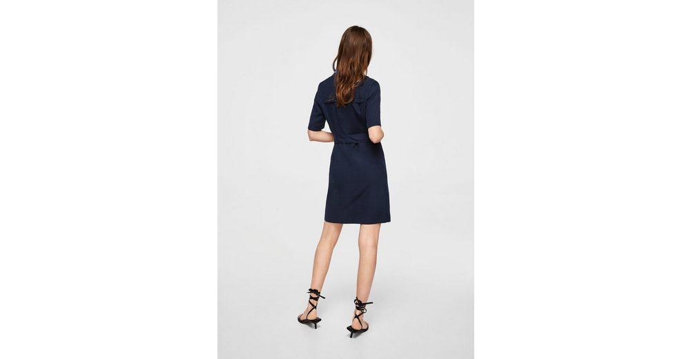 MANGO Kleid mit Gürtel Angebote Zum Verkauf 4qPHrh6kb