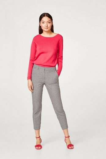 Esprit Collection Fine Trick-sweater With Striking Ripp Details